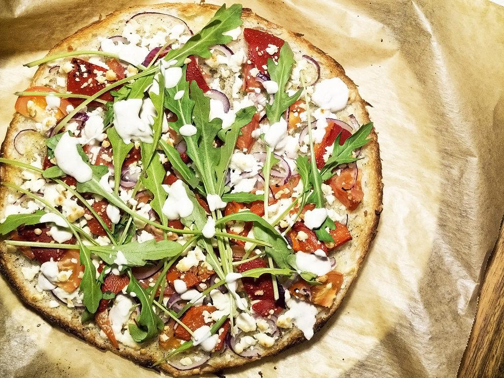 Flatbread Pizza Légère